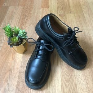 SKETCHERS Leather Uppers Oxford Lace Shoes